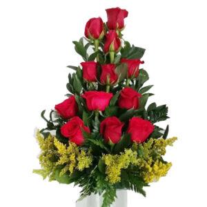 Rosas rojas en Valledupar