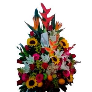Flores tropicales en valledupar