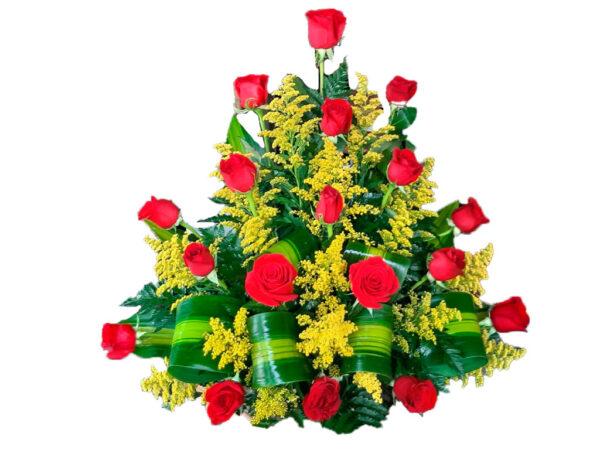 Ramos florales en rosas en Valledupar
