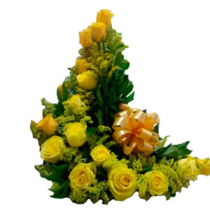 Rosas amarillas en valledupar