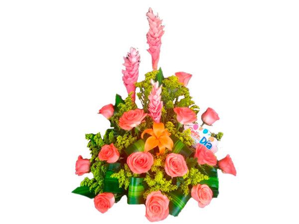 Rosas de colores en valledupar
