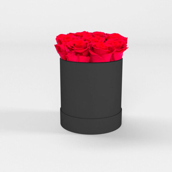 Rosas preservadas a domicilio